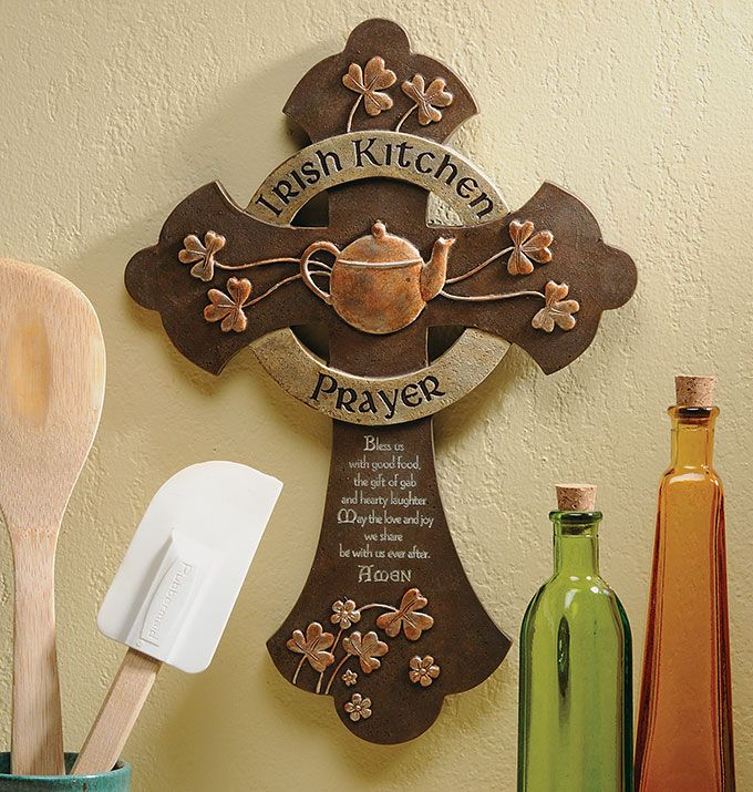 irish+kitchens+designs | Irish Kitchen Prayer Cross