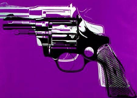 Gun by Andy Warhol (1961)
