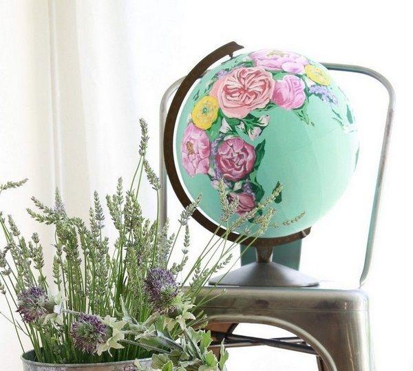 les 31 meilleures images propos de diy globe terrestre sur pinterest wanderlust livres d 39 or. Black Bedroom Furniture Sets. Home Design Ideas