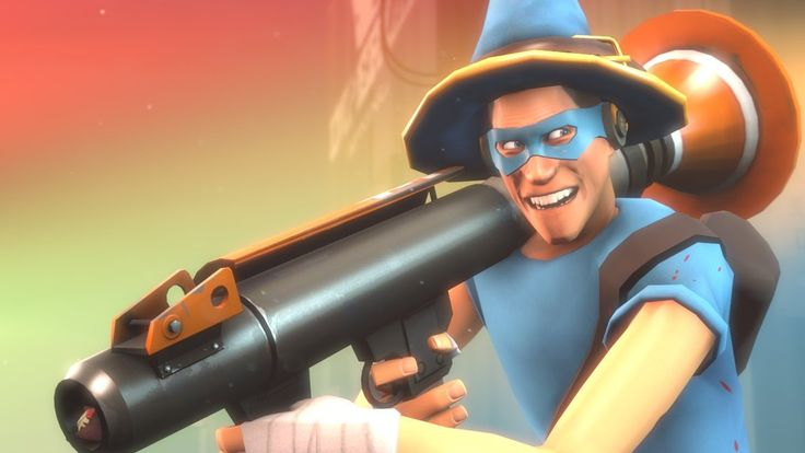 Rocket Jumping Scout! The BEST Randomizer Loadout!