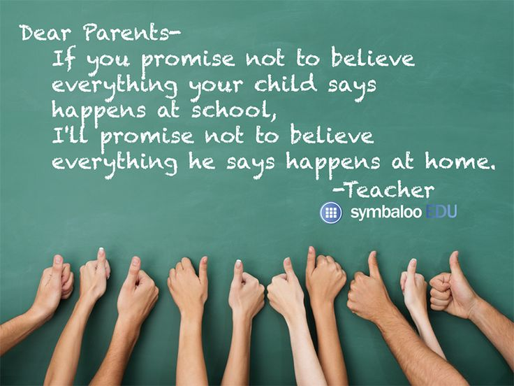Image result for if you promise not to believe everything your child says