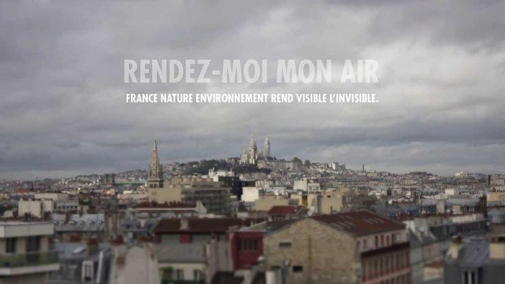 France Nature Environnement (FNE) révèle la pollution de l'air. Directrice de création de la campagne : Candice Dupré.