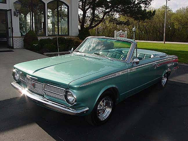 1965 Plymouth Valiant 200 Convertible