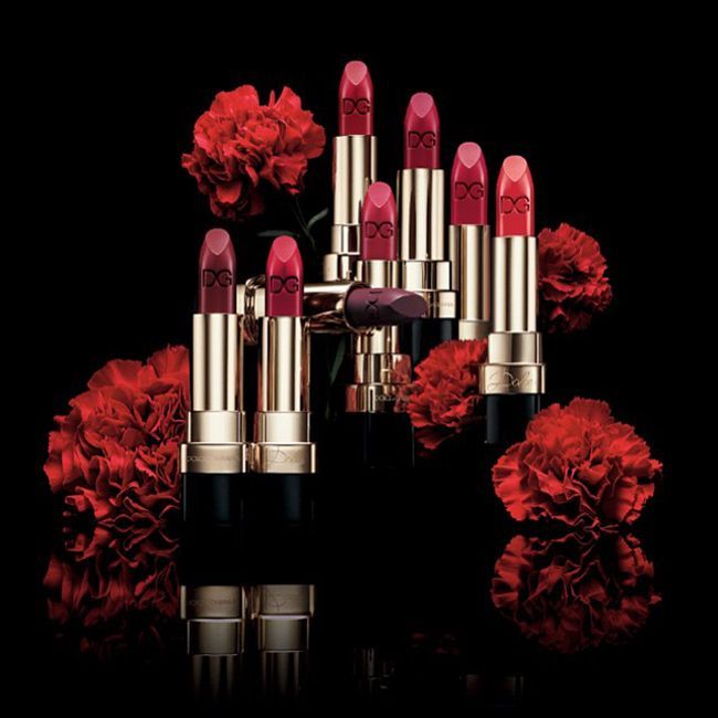 Nueva colección de labiales Dolce matte de Dolce & Gabbana.