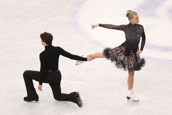 Piper Gilles and Paul Poirier of Canada compete in the Ice Dance Free Dance during ISU World Figure Skating Championships at Saitama Super ...