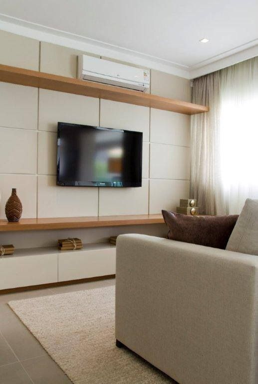 Love the cordless look of this home theater? TPro Electric has just the trick to transform your TV space into this simple, clean cut design.
