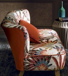 Touraco Fabric by Casamance | Jane Clayton