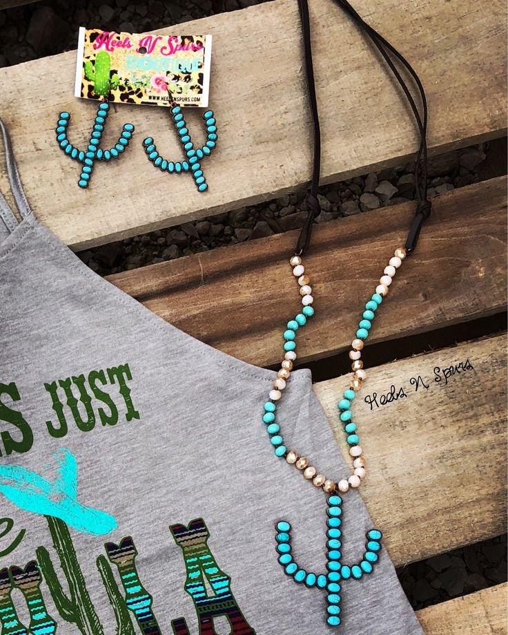 Arizona Cactus Necklace