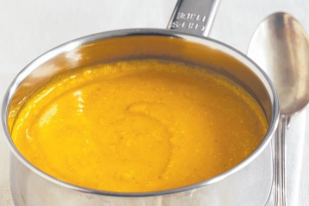 Australian roast Kent pumpkin onion and apple soup is packed with real flavour.