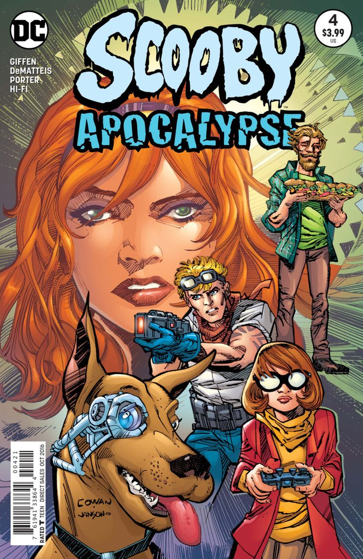 DC Comics - Scooby Apocalypse #4 - Denys Cowan Variant Cover