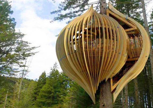 Casa amarilla: Nueva Zelanda  #Arquitectura #Sustentable
