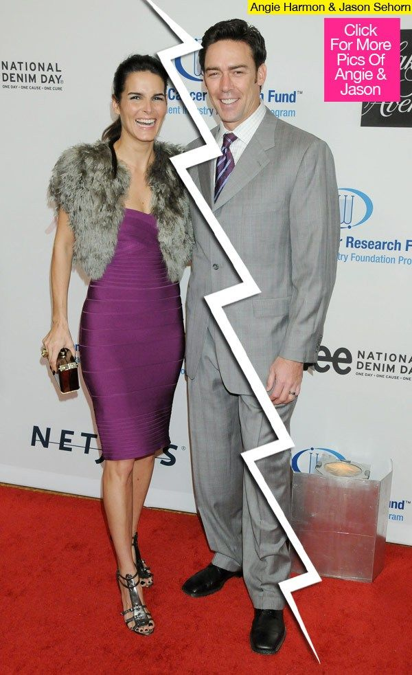 Jason Sehorn  & Angie Harmon Split