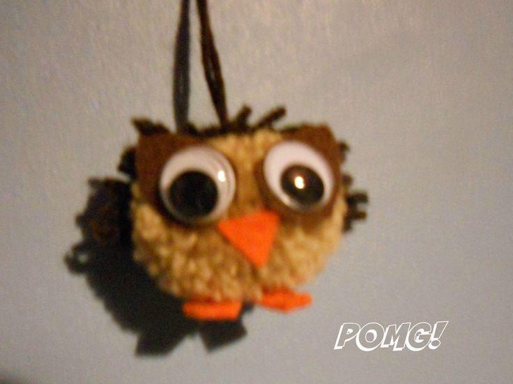 owl pom pom facebook.com/pomgpompoms