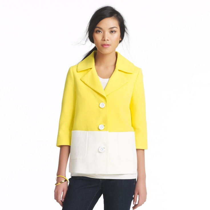 such a cute coat for spring/summer!!
