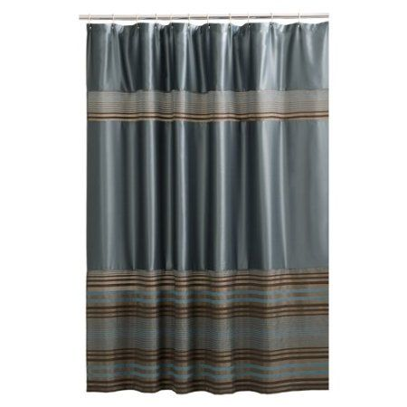 Shower Curtain Blue Brown For The Home Pinterest