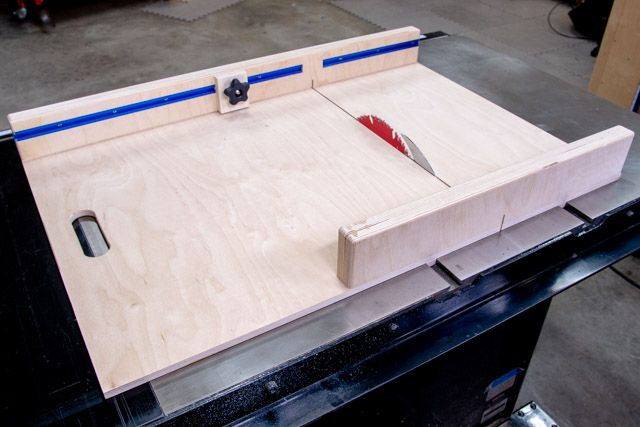 How To Make A Table Saw Sled Free Plans Table Saw Sled Table