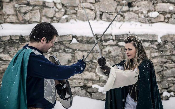 King Guther & queen Brunhild