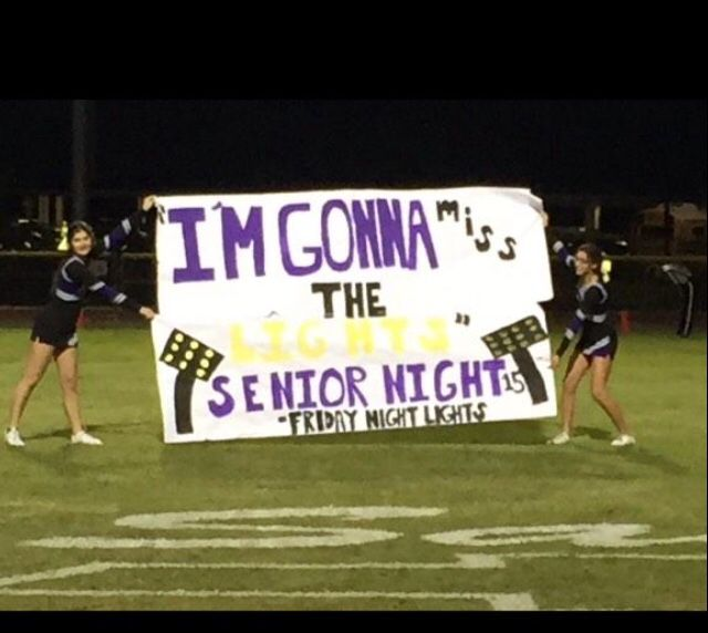 35 Best Images About Senior Night/Gifts On Pinterest