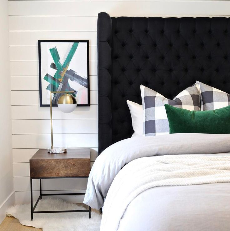 17+ Ideas About Black Master Bedroom On Pinterest