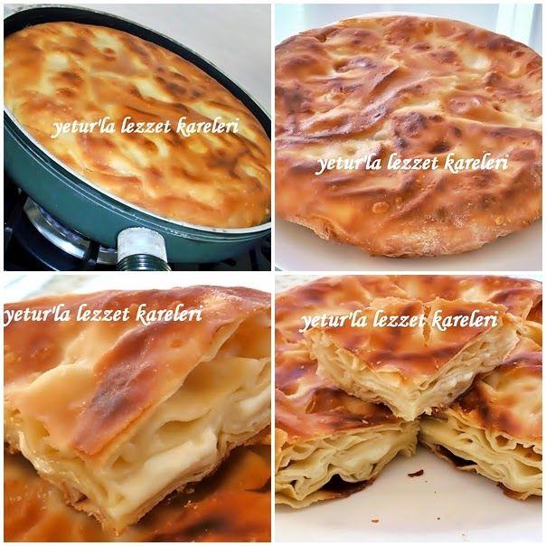 yetur'la lezzet kareleri: tereyağlı-peynirli su böreği