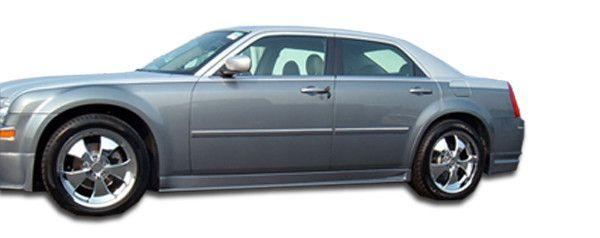 2005-2010 Chrysler 300 300C Duraflex VIP Side Skirts Rocker Panels - 2 Piece