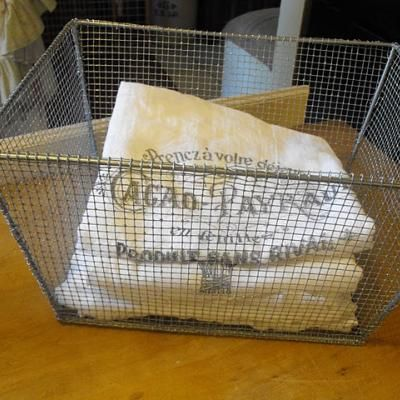 how to make wire basket