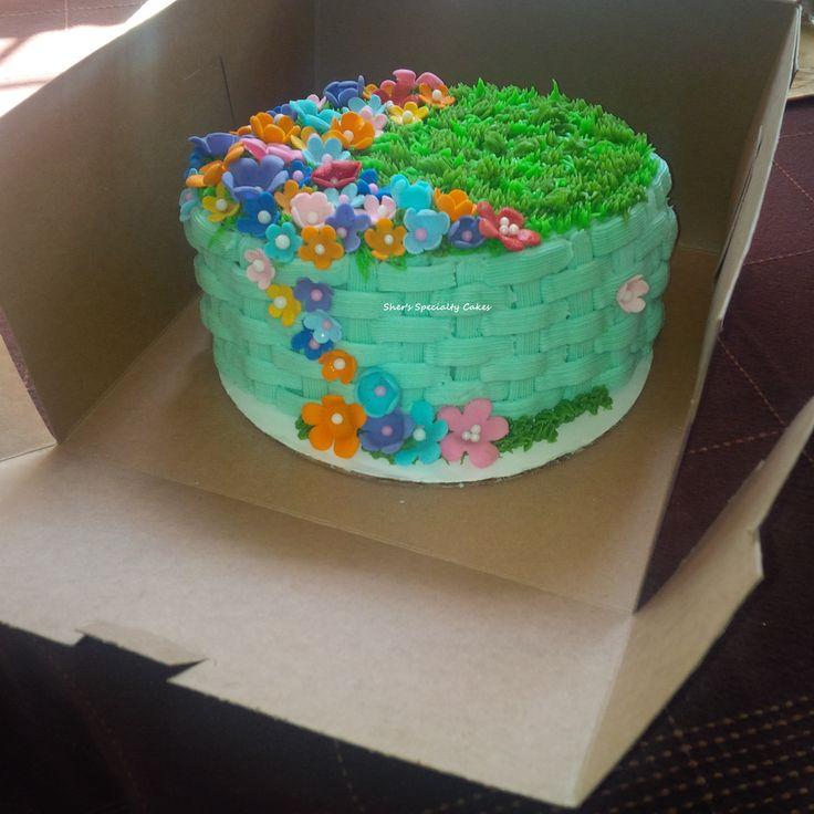 Spring Basket cake