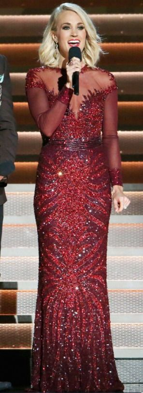 Carrie Underwood. CMA awards 50.