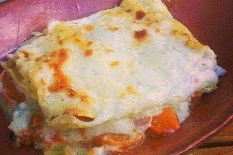 Lasagna con zucca e besciamella
