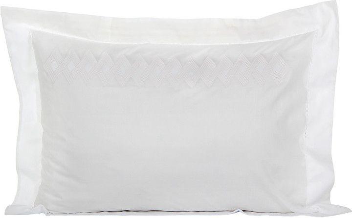 Yves Delorme - Miroir - Pillowcase Nude - 50x75cm