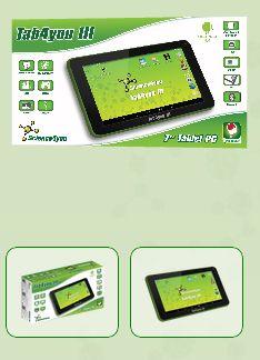 O Tab4you III dirige-se especificamente para o público infantil e disponibiliza várias inovações face às versões anteriores. Este tablet conta com um ecrã multi-touch de 7 polegadas e conteúdos exclusivos da Science4you, como por exemplo as Mobile Apps educativas. Conta com o sistema operativo Android 4.4, câmara frontal de 0.3 MP e câmara traseira de 2.0 MP.