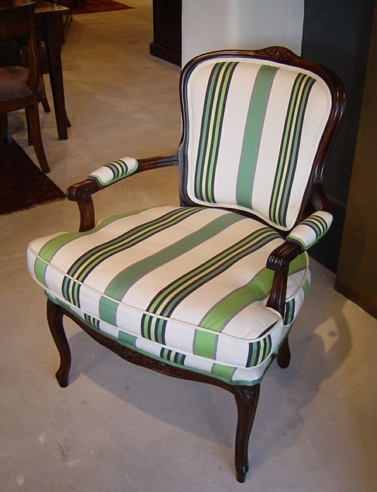 Louis XV Side Chair - Natural Finish - In 'Maylis'