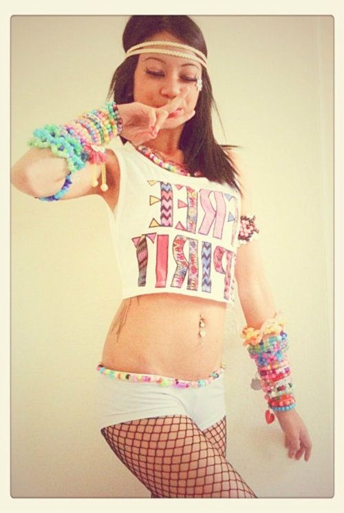 DIY Rave outfit