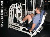 Lever Seated Leg Press