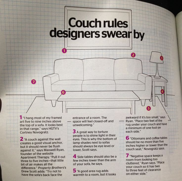 Living room couch placement pretty interesting tips
