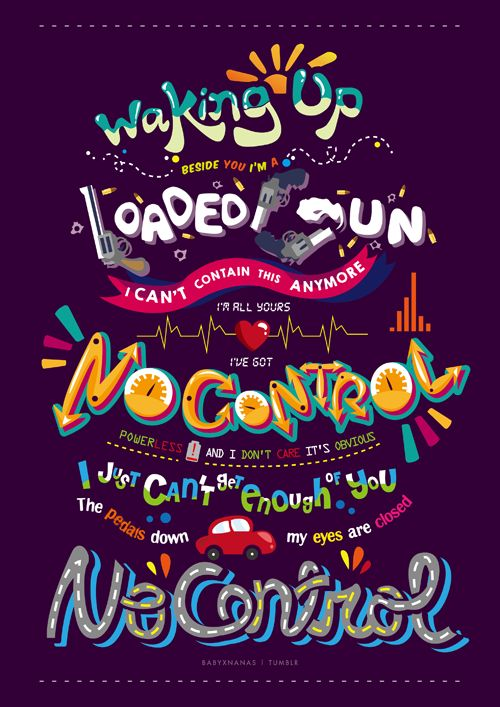 no control no control powerless and I don't care it's obvious the pedals down my eyes are closed no control