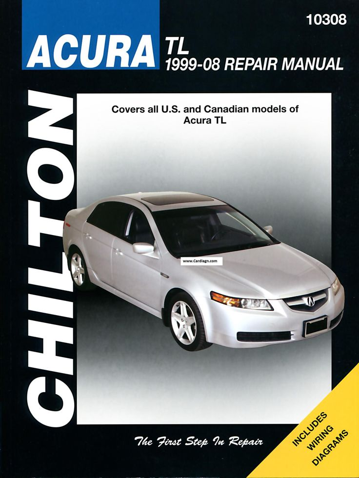 Acura TL 1999 to 2008 Chilton Manual Free Download PDF
