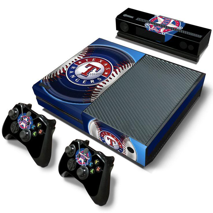 4 MLB команды логотип техасские рейнджеры флорида марлинс милуоки st. Кардиналс виниловые наклейки для Xbox one