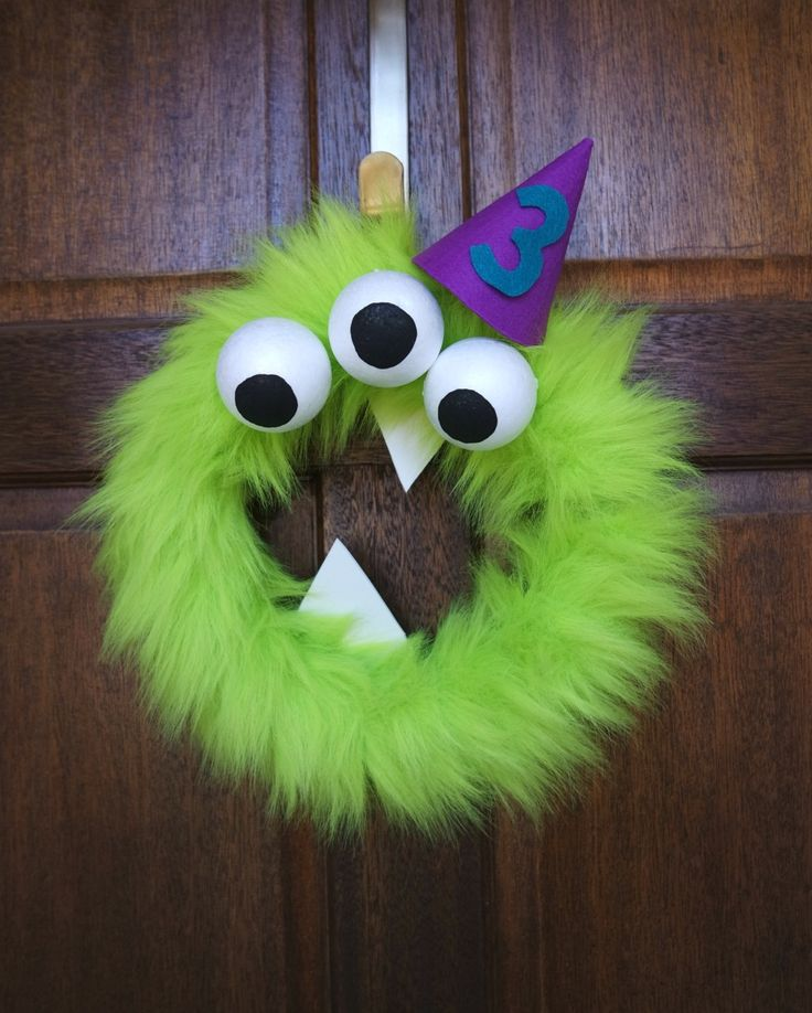 Aidan's Monster Birthday Party – DIY Monster Birthday Party Decorations