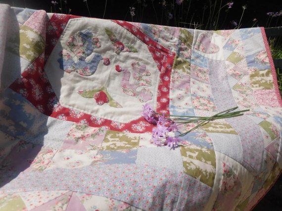 Baby quilt tilda quilt baby blanket Kids от MagicThreadByNatalia