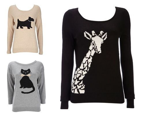Make a statement this autumn with one of our gorgeous animal motif jumpers – they make quite an impact
