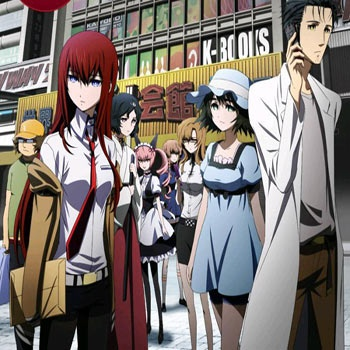 Steins Gate. I'm in love with this anime. Each episode gives you a little piece of the puzzle to complete and as you nearly finish completing the puzzle, the puzzle had to be undone for it to come together into this one masterpiece of an anime. Just brilliant!