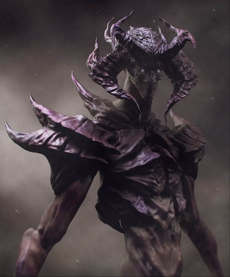 Diablo [Re-design], Pavee Keawmafai on ArtStation at https://www.artstation.com/artwork/diablo-re-design
