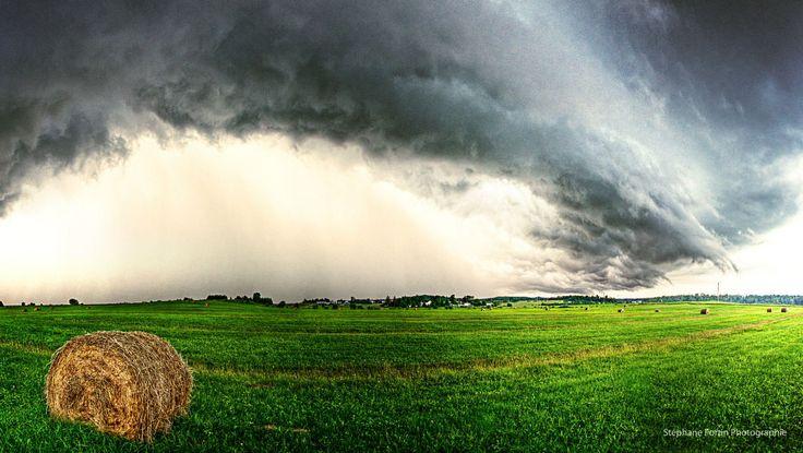 magnifique ciel d'Abitibi-Photographie de Stéphane Fortin
