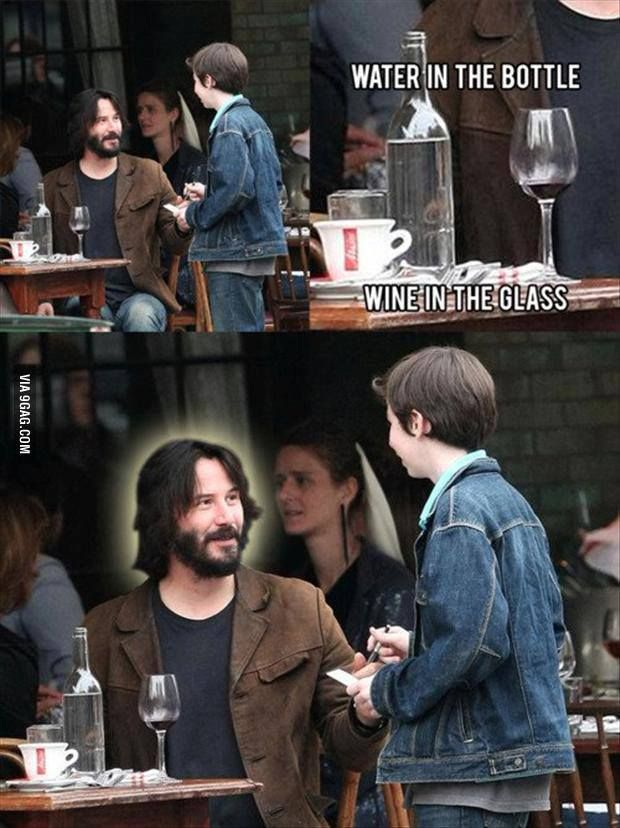 I know Keanu Reeves isn't Jesus Christ......but that is......strange