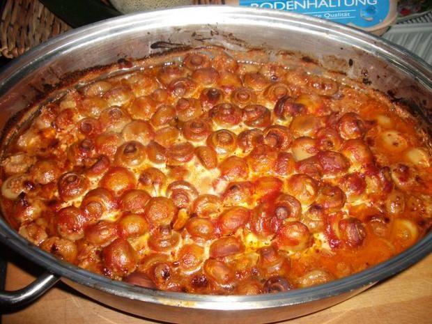 Rezept: Schweinenackensteak  mariniert mit Champignons Bild Nr. 10