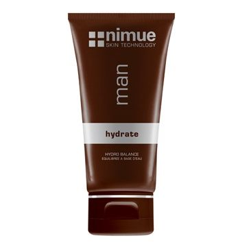 Hydro Balance. A balanced daily light textured moisturiser that instantly improves the feel and appearance of neglected skin. Based on Phytoceuticals and Antioxidants for maximum skin health. 100ml. Nimue Skin Technology.