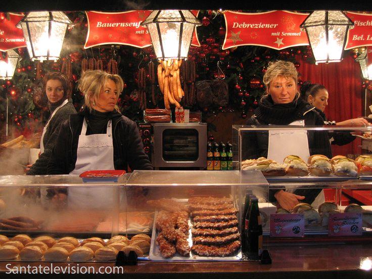 Mercado de Natal de Nuremberga na Alemanha