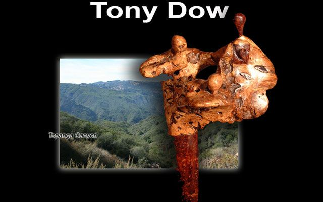 If there is an end to Tony Dow's talents we have yet to see it! Take a look at the Sculptural work of Tony in his Topanga CA studio!