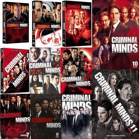 Criminal Minds Seasons 1-11 Set on DVD